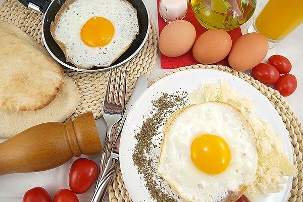 яйцо вареное 1шт 55г: калорийность, содержание белков