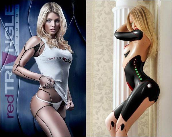 Секс робот женшина
